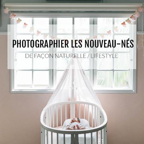 Une formation pour apprendre à photographier les nouveau-nés de façon naturel, à domicile dans la douceur du cocon familial