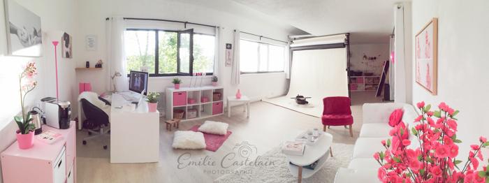 Le studio de la photographe Emilie Castelain