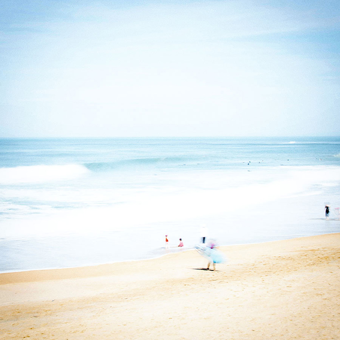 photo, paysage, plage