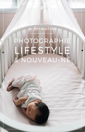 Apprenez à photographier un nouveau-né à domicile, au sein de sa famille.