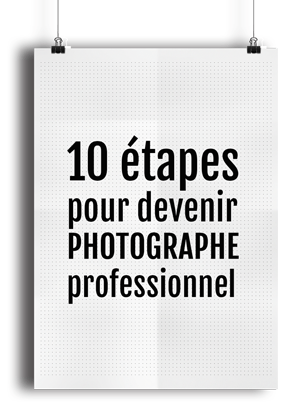 Devenir photographe pro