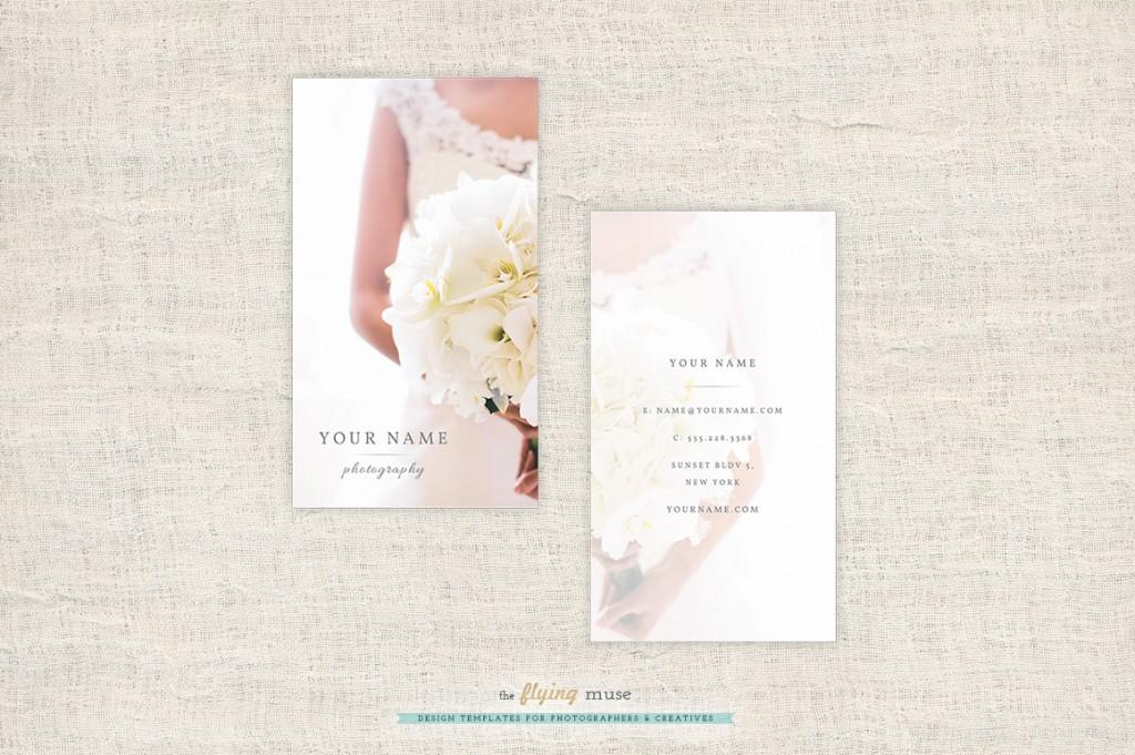 Carte de visite pour photographe de mariage - Modèle à personnaliser 2e15ca6a07e