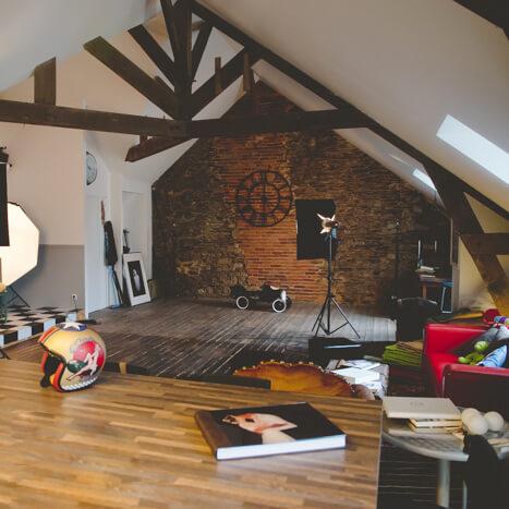 Inspiration : créer un studio de photographe à votre image !