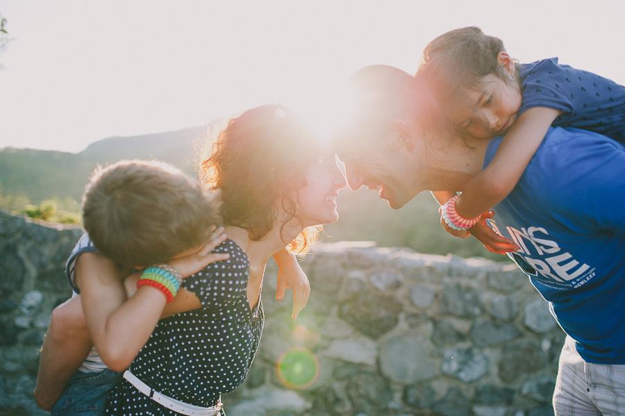 Séance photo famille - lifestyle