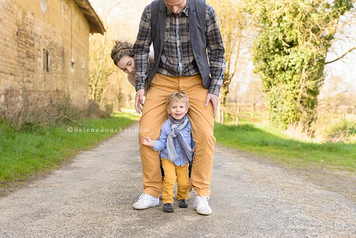 Photo de famille - par Hélène Douchet