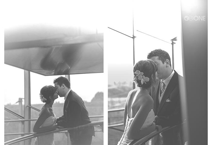 Photo de mariage pluvieux