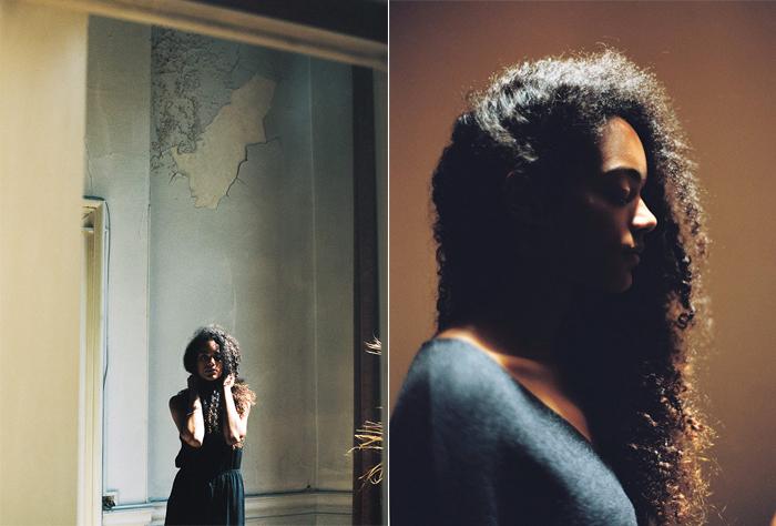 portrait de femme - Michael Ferire