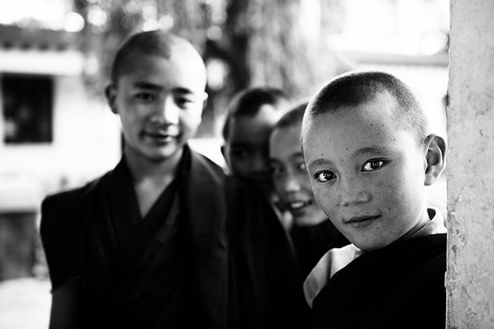 Mission Humanitaire dans un camp Tibétain