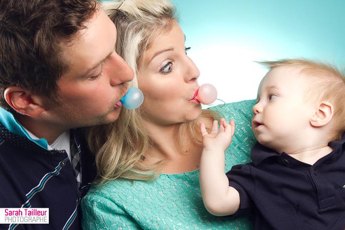 portrait de famille humoristique