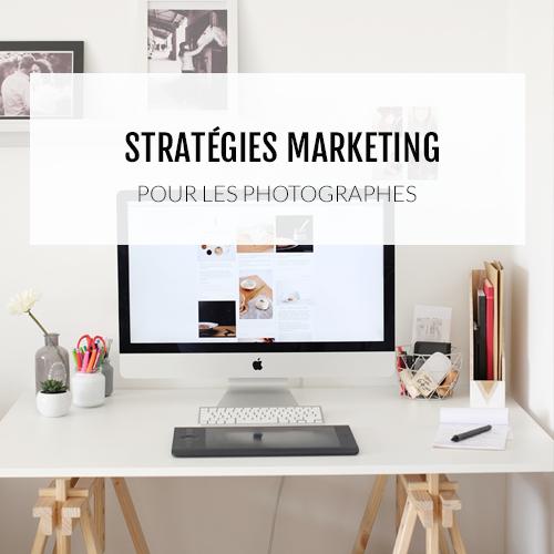 Formation en ligne pour aider les photographes à mettre en place la bonne stratégie marketing et vivre de leur passion.