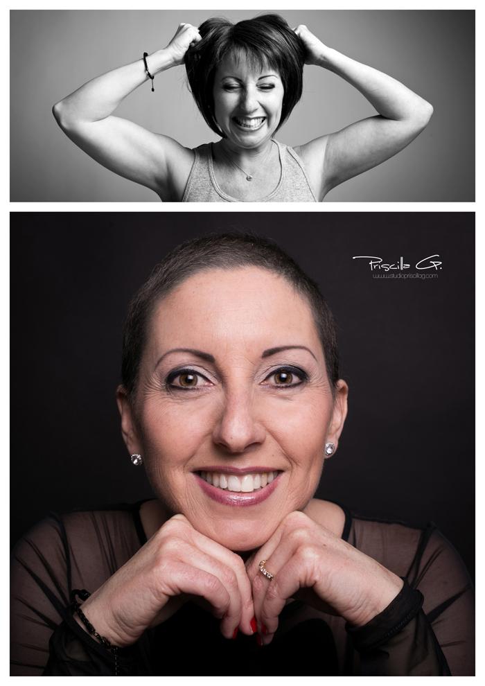 photo-therapie - une séance photo après un cancer