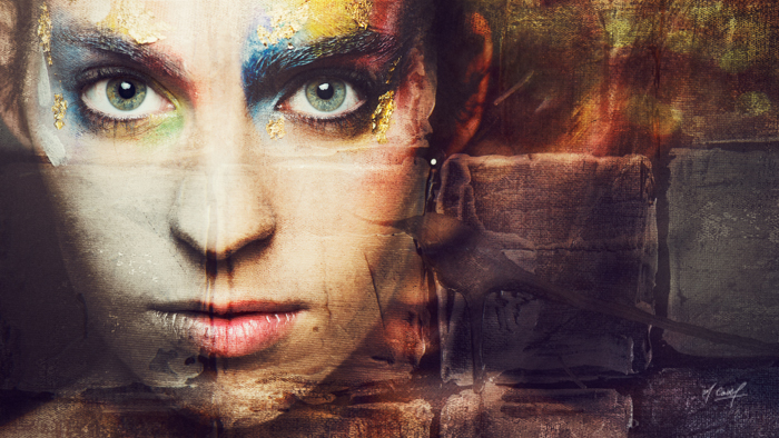 Portrait numérique et artistique