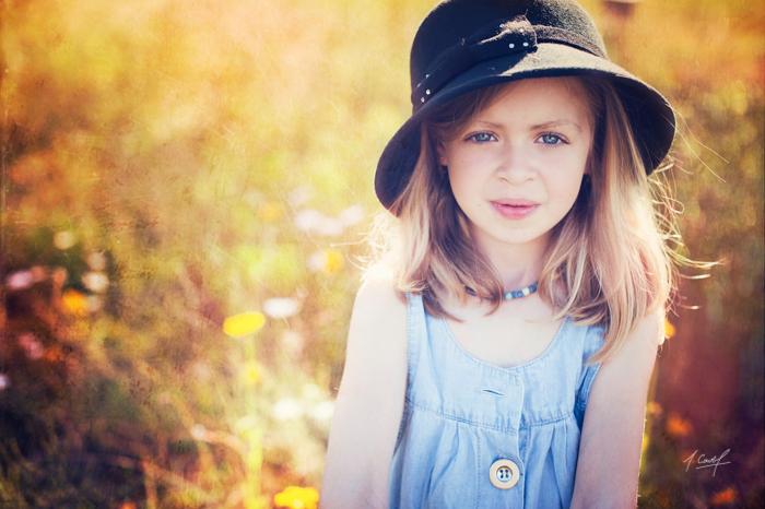 Portrait d'enfant par Johanna Cavel