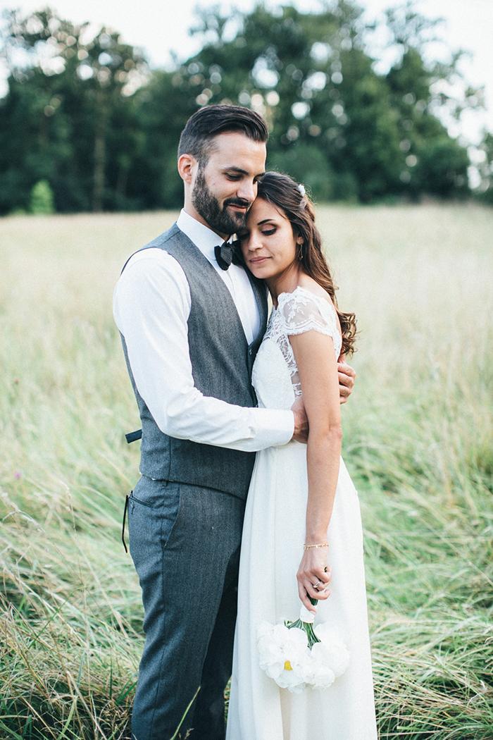 jeune couple de mariés - photo de Lifestories Wedding Photography