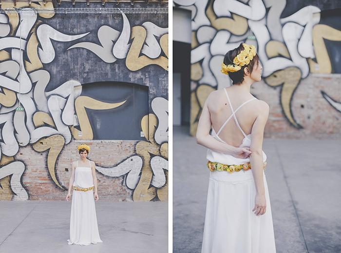 robe de mariée et photographes