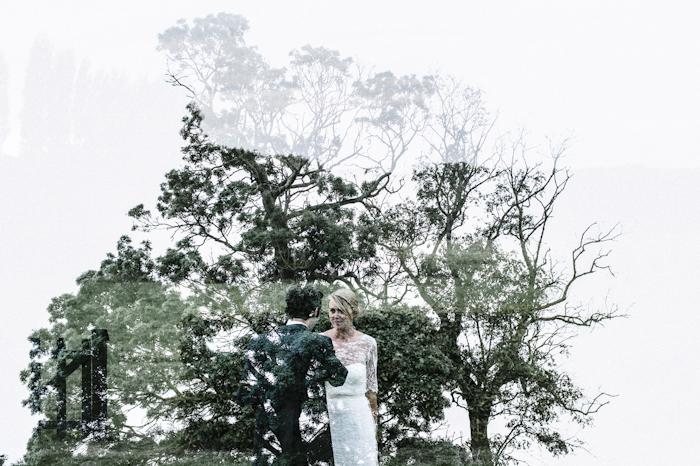 Double exposition - Photographe de mariage