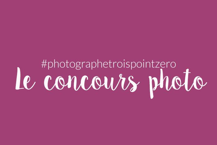concours photo - Photographe 3.0