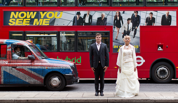 Photos de mariés à Londres