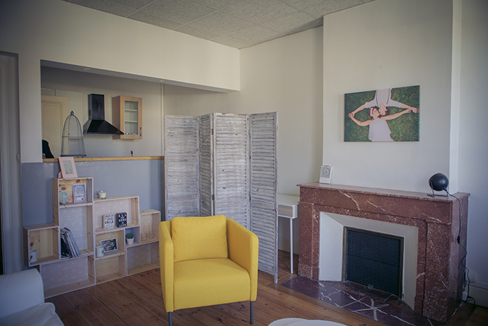 Un appartement en guise de studio photo