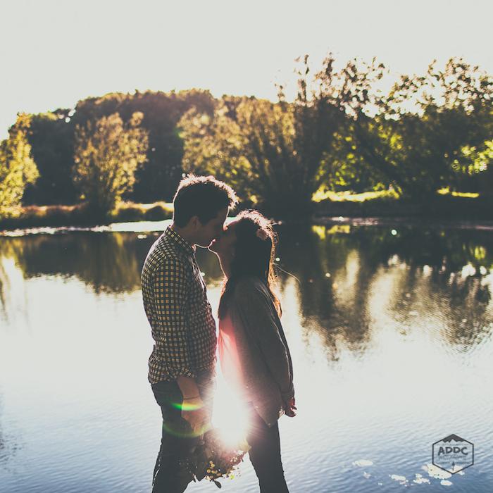 portrait d'amoureux par un couple de photographes