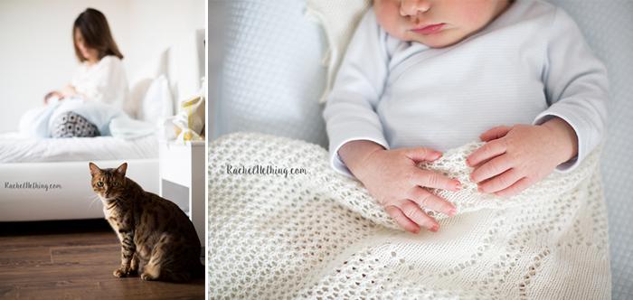 Comment se passe une séance photo naissance ?
