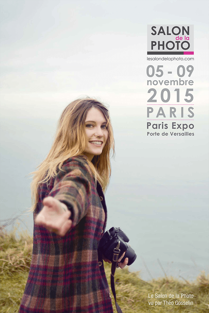L'affiche du salon de la photo 2015