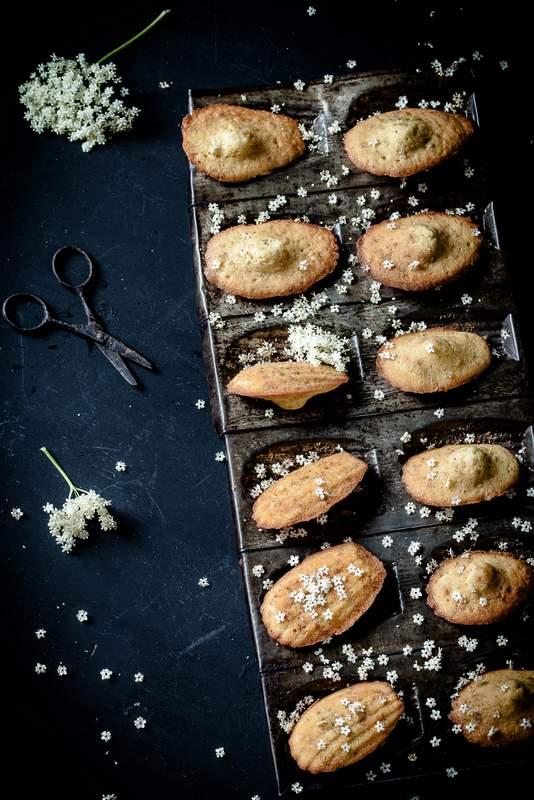 Photographie culinaire et artistique : madeleines