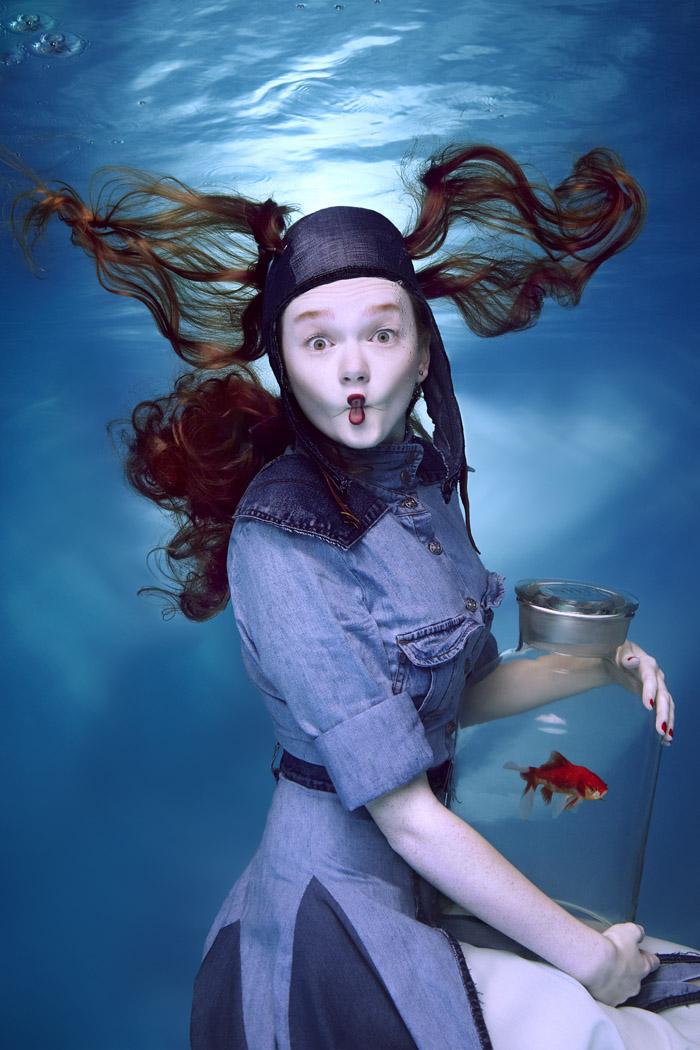 Photographie artistique sous marine