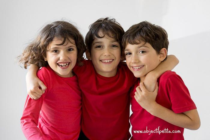 Portrait de famille : les triplés