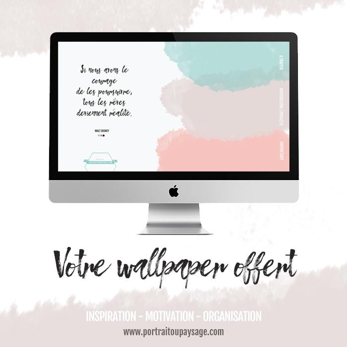 téléchargez votre wallpaper - organizer