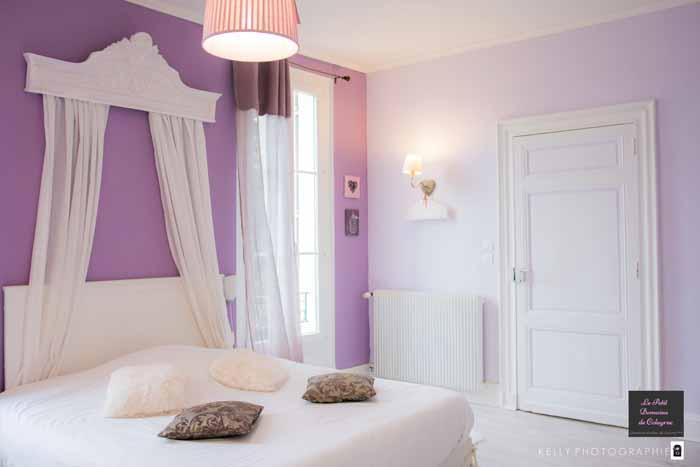 Chambre d'hôte pour une jolie séance photo boudoir