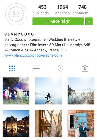 Flux Instagram Blanc Coco