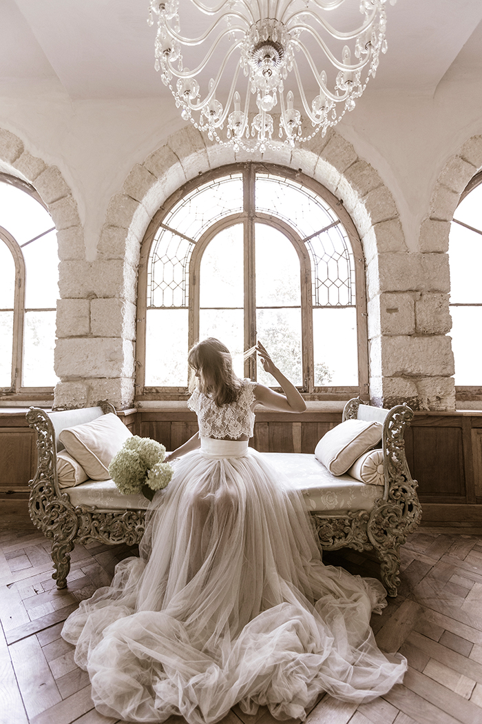 Photo corporate robe de mariée par Félicia Sisco
