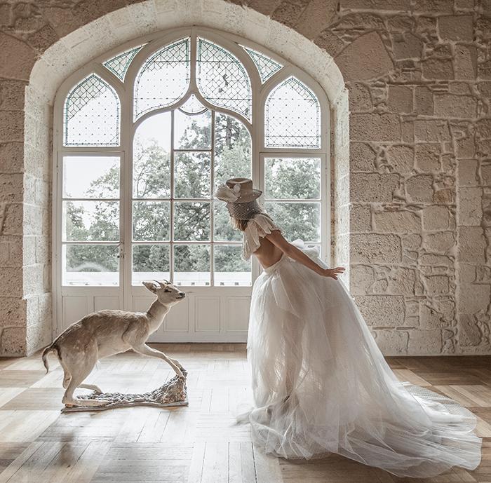 Photo de mariée, féerique, par Félicia Sisco