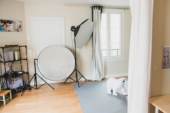 Studio photo chaleureux pour les familles et les enfants, à Paris, - Candice Henin Photographe