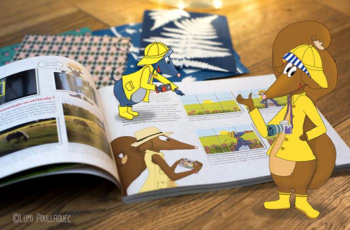 Apprendre la photo aux enfants, c'est simple avec le manuel de Lumi Poullaouec : Clic !