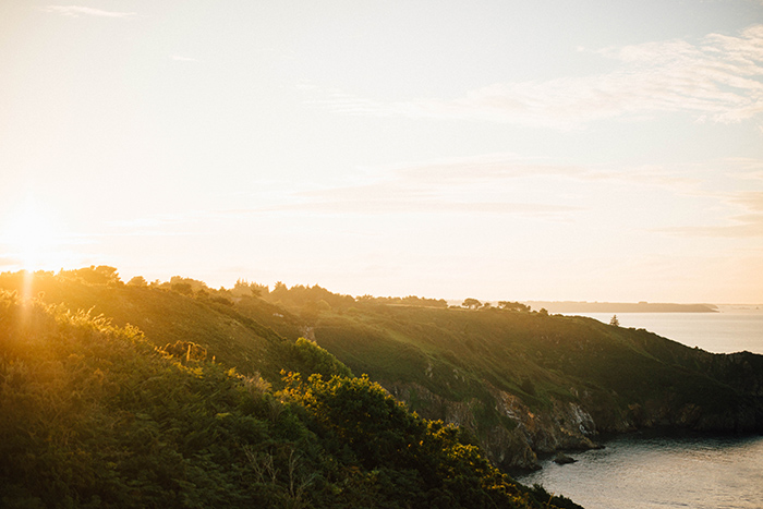 Lieu de la séance inspiration : paysages de bretagne - Lumière naturelle et golden hour