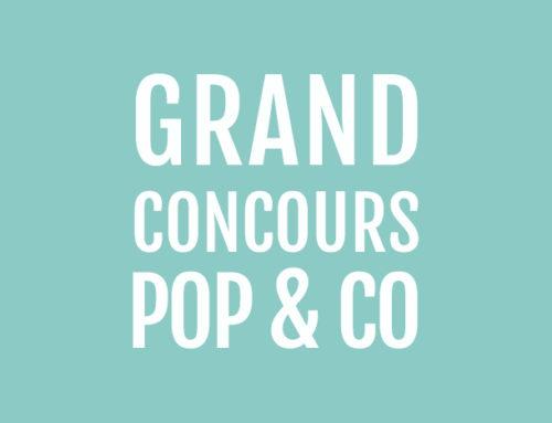Le grand concours Pop&co !