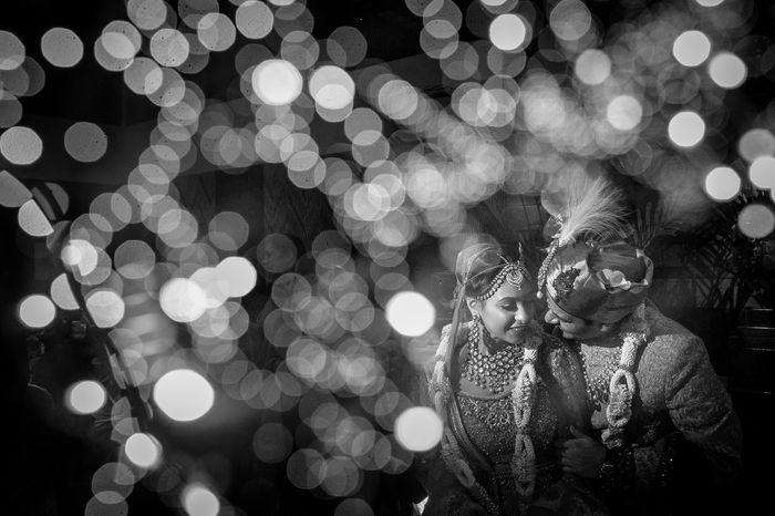 Photo noir et blanc d'un mariage en Inde par doctibphoto.com