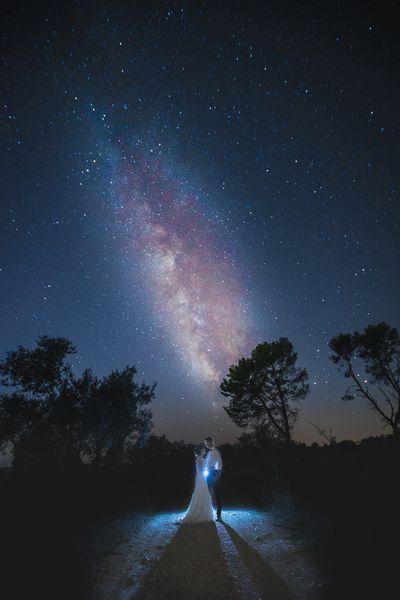 Photographie de couple en pleine nuit, photo artistique par doctibphoto.com