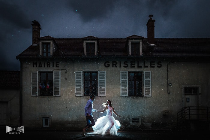 Photographie de mariage par Benjamin Brette, french fearless photographer
