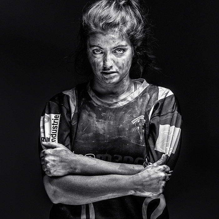 Projet photo de Antoine DOminique : Féminité et Rugby