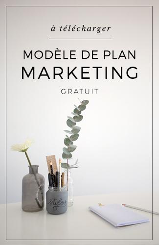 Téléchargez votre modèle de plan marketing gratuitement.