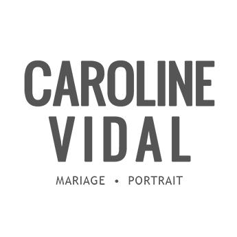 Logo Caroline Vidal photographe