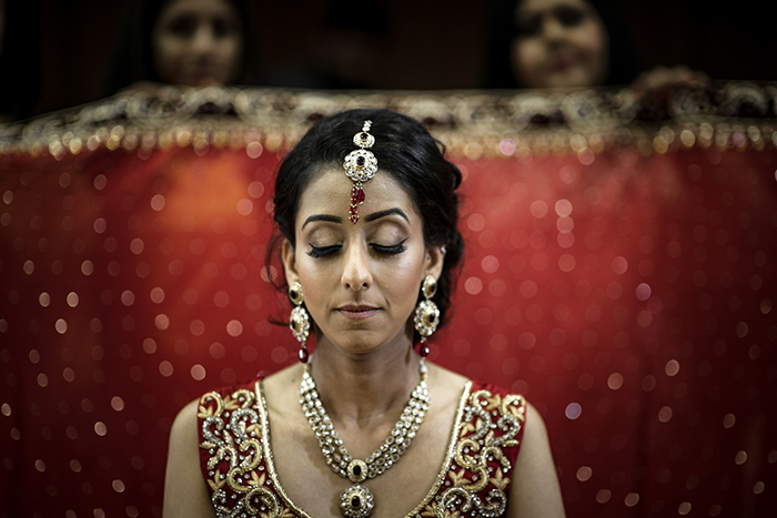 Mariée hindou.