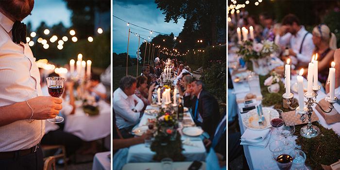 Un triptyque pour raconter l'hisoire d'une soirée de mariage en photos. Tutoriel de Mélanie Bultez, photographe et spécialiste Photoshop