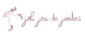 Logo joli jeu de jambes