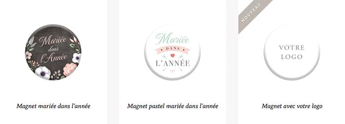 Les magnet personnalisé par une entreprise française : Print your love.