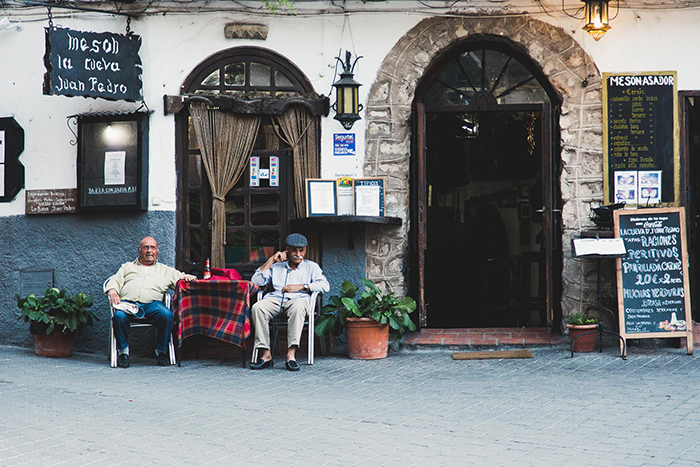 L'andalousie et les voyages en van et en famille.