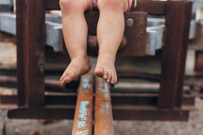 Petits pieds sales...